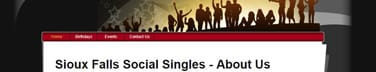 Sioux Falls Singles Events Logo