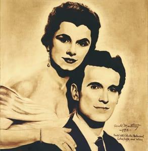 Photo of Adela Hernandez Gonzmart and her husband Cesar Gonzmart