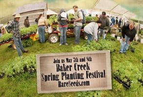 Photo of Baker Creek's Spring Planting Festival