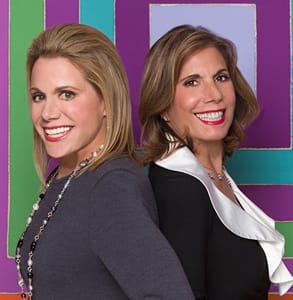Photo of Barbara Black Goldfarb and Nancy Gold, Co-Founders of Elegant Introductions