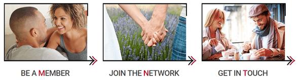 Screenshot showcasing Mutual Match's services