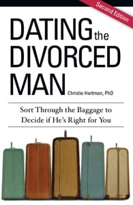 "Cover of ""Dating the Divorced Man"" by Dr. Christie Hartman"