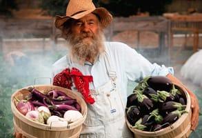 Photo of Dave Kaiser, a farmer at Baker's Creek