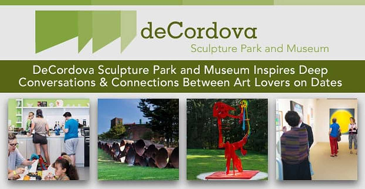 DeCordova Sculpture Park and Museum Inspires Deep Conversations & Connections Between Art Lovers on Dates