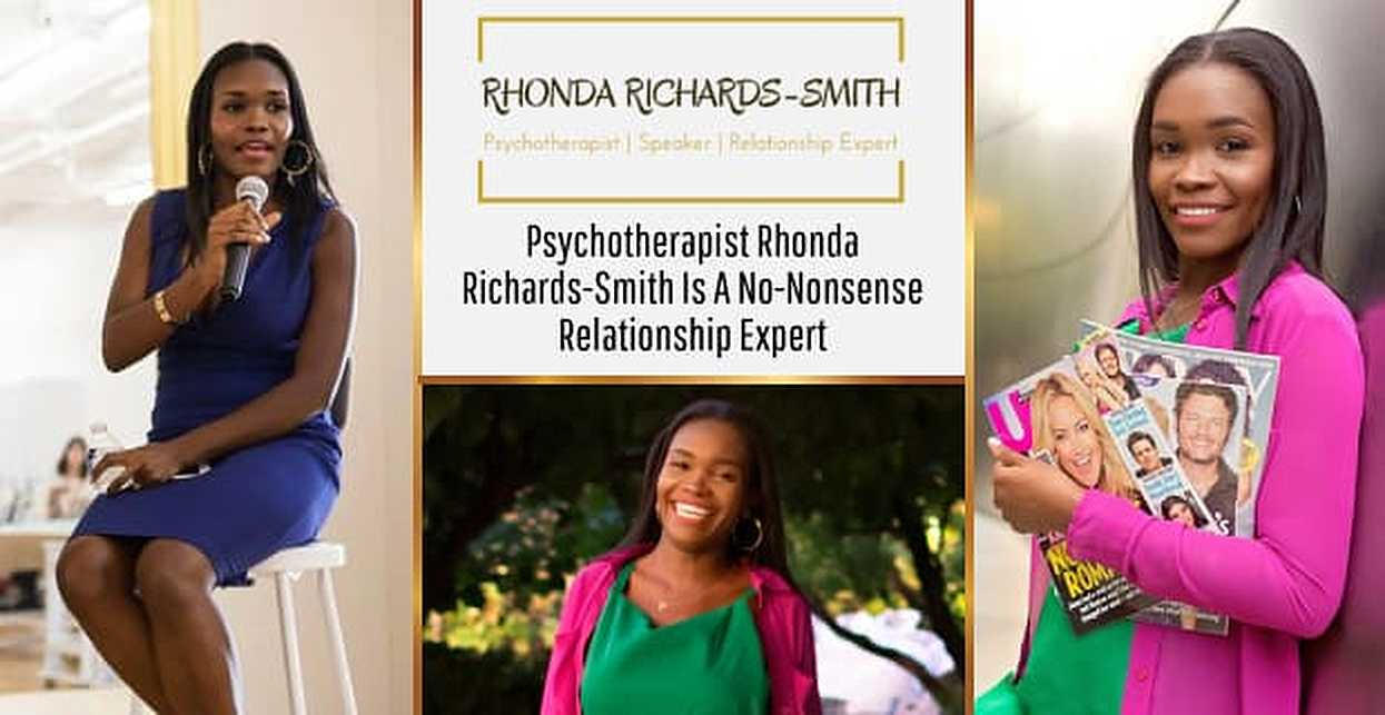 Psychotherapist & Relationship Expert Rhonda Richards-Smith Takes a Mindful & No-Nonsense Approach to Dating