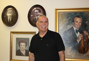 Photo of Richard Gonzmart, Co-owner and CEO of the Columbia Restaurant