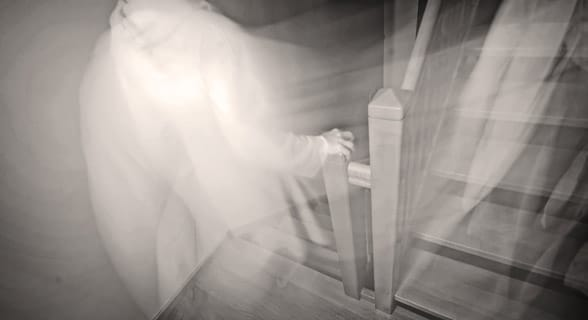 Photo of a ghost