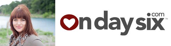 Wendee Mannon's headshot and the OnDaySix logo
