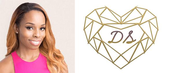 Devyn Simone's headshot and logo