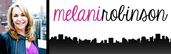 Melani Robinson's headshot and her logo