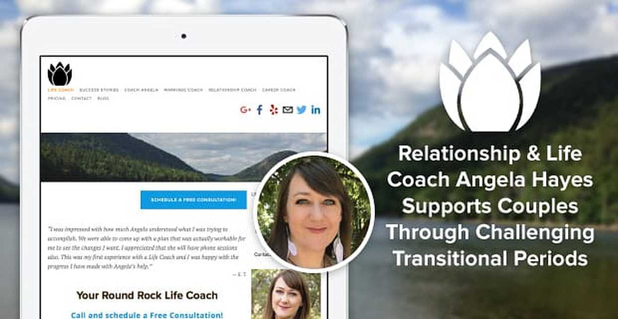 Relationship & Life Coach Angela Hayes Supports Couples Through Challenging Transitional Periods