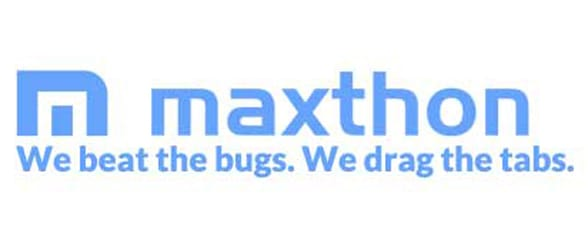 Photo of the Maxthon logo