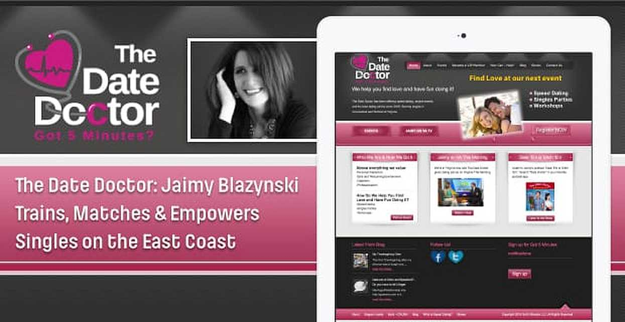 The Date Doctor: Jaimy Blazynski Trains, Matches & Empowers Singles on the East Coast