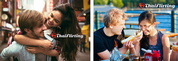 Photo of couples matched at ThaiFlirting.com