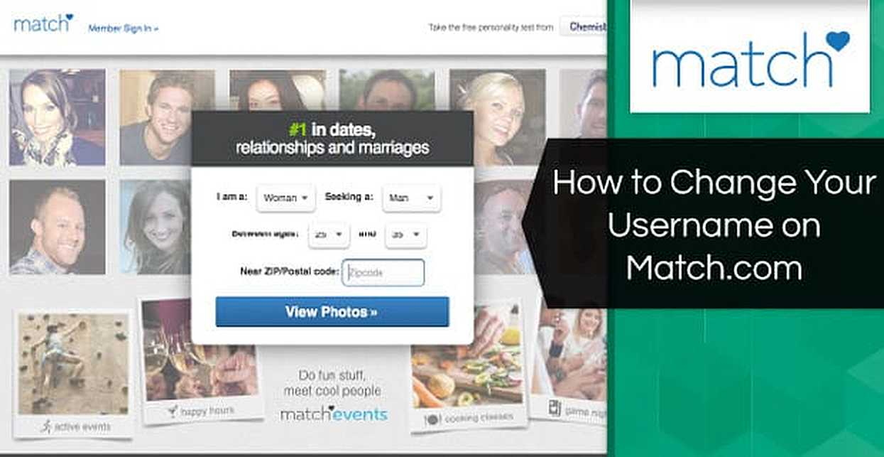How to Change Your Username on Match.com