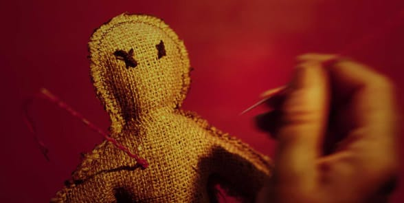 Photo of a voodoo doll