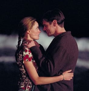 Photo of Truman and Lauren in The Truman Show