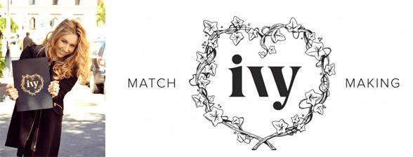 Photo of Inga Verbeeck and the Ivy International logo