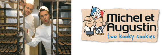Photo of Michel and Augustin and the Michel et Augustin logo