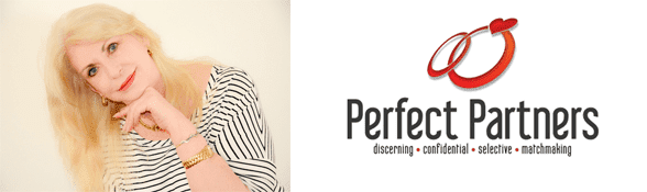 Shannon Davidoff's headshot and the Perfect Partners logo