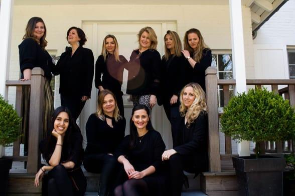 Photo of the Ivy International team