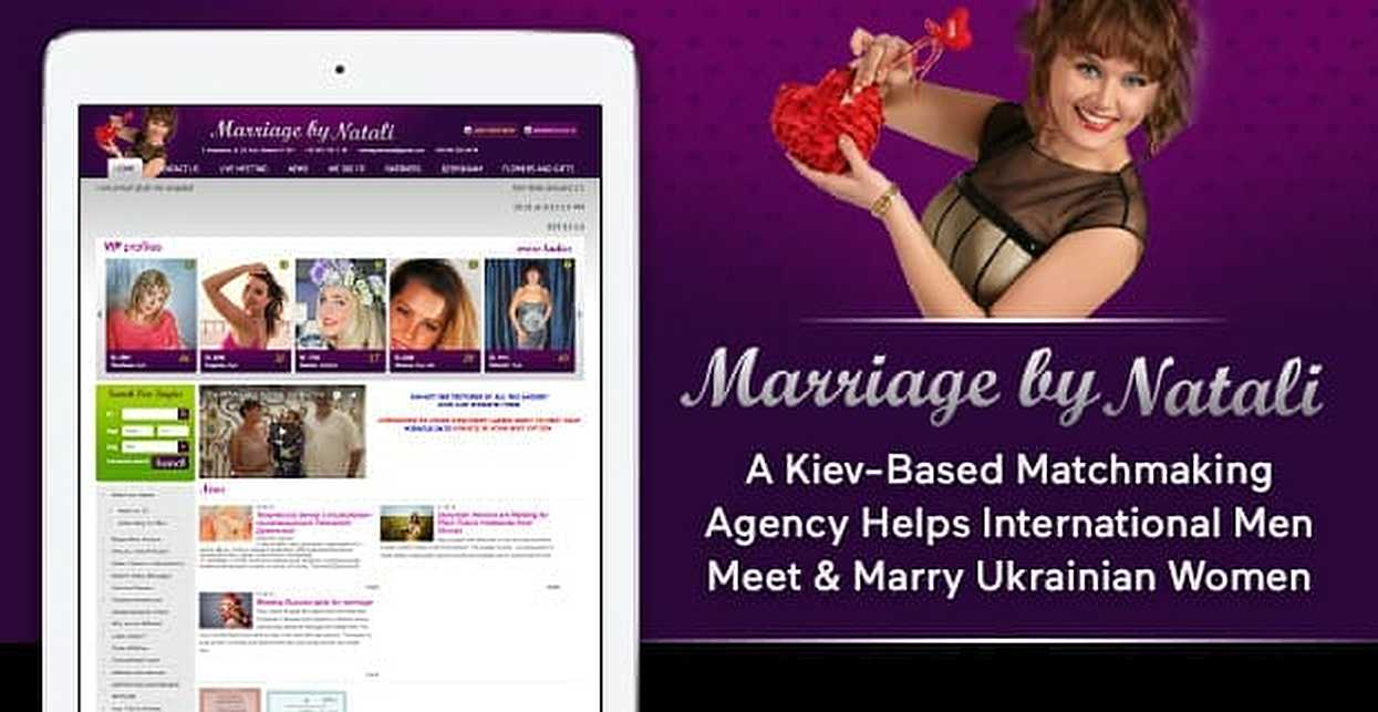 Marriage By Natali — A Kiev-Based Matchmaking Agency Helps International Men Meet & Marry Ukrainian Women