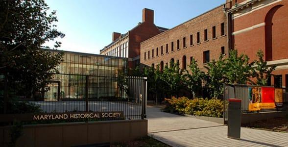 Photo of the Maryland Historical Society's exterior