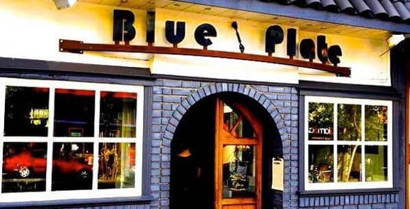 Photo of the outside of Blue Plate