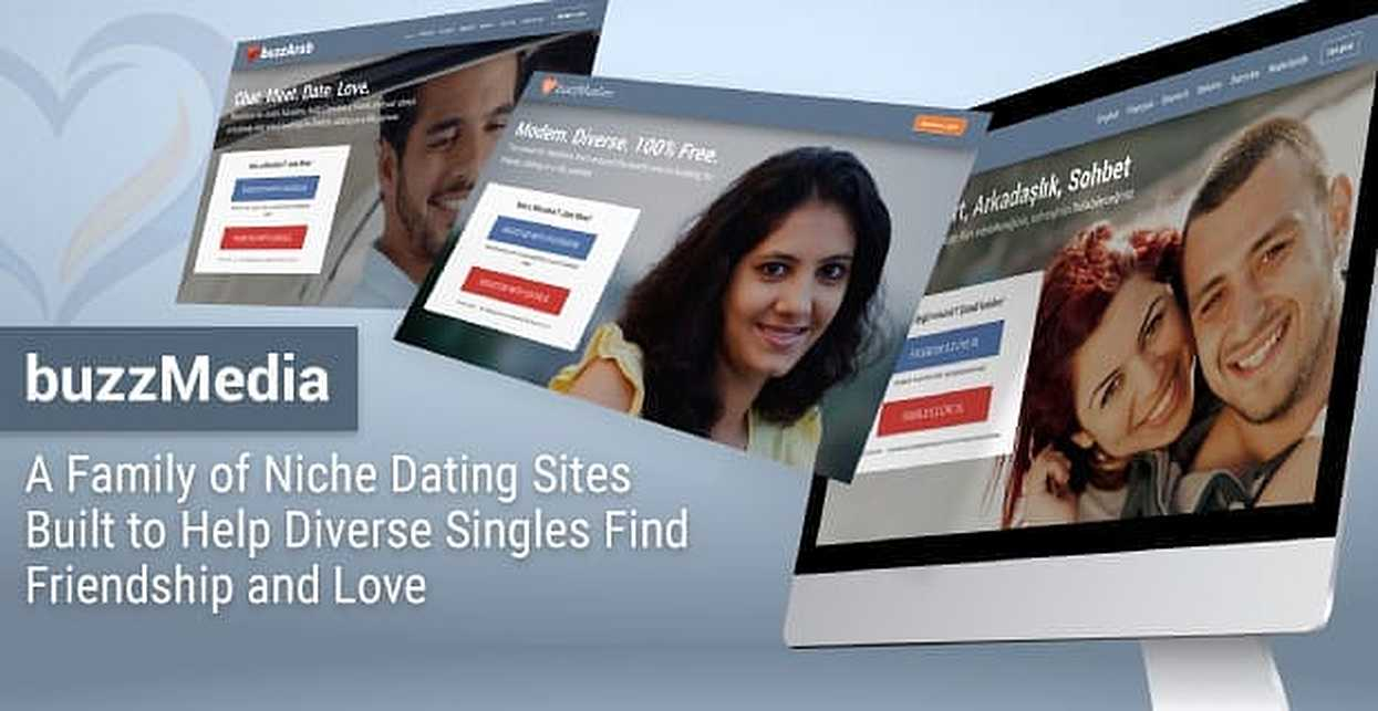 buzzMedia: A Family of Niche Dating Sites Built to Help Diverse Singles Find Friendship and Love