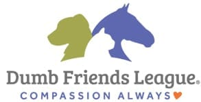 Photo of the Dumb Friends League logo