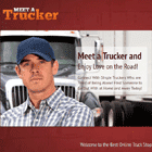 single black truck drivers