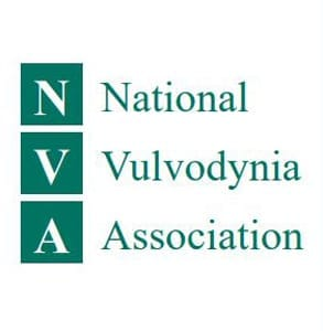 Photo of the National Vulvodynia Association logo
