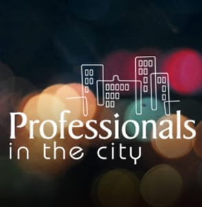 Photo of the Professionals in the City logo
