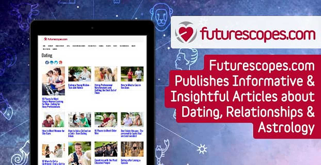 Futurescopes.com Publishes Informative & Insightful Articles about Dating, Relationships & Astrology