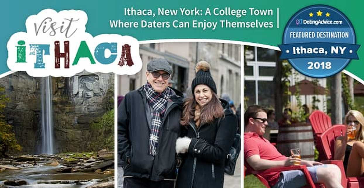 2018 Featured Destination Ithaca, New York — A College Town Where Daters Can Enjoy the Serenity of Nature & A Cool City Vibe