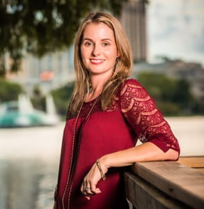 Photo of Kristen Manieri, Founder and Editor of Orlando Date Night Guide