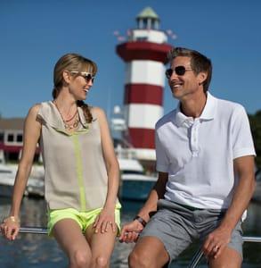 Photo of a couple at Hilton Head Island