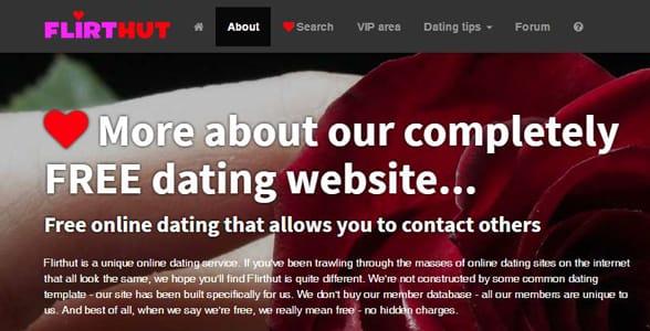 Screenshot of Flirthut.com