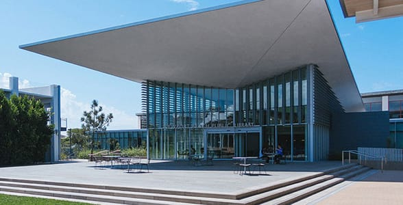 Photo of the Newport Beach Public Library