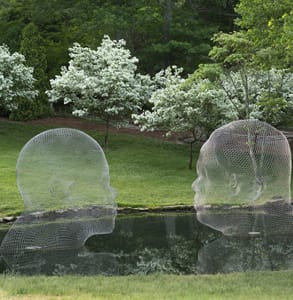 Photo of an installation at the North Carolina Museum of Art