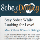 Sober Dating Service