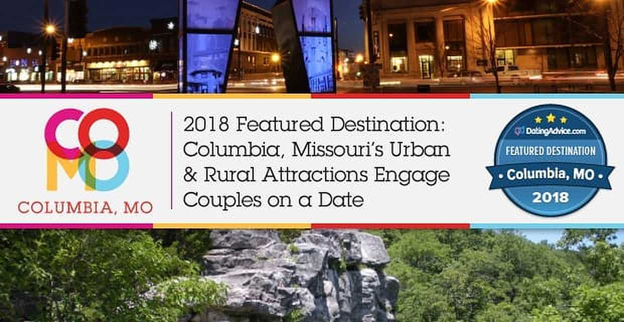 2018 Featured Destination: Columbia, Missouri's Urban & Rural Attractions Engage Couples on a Date