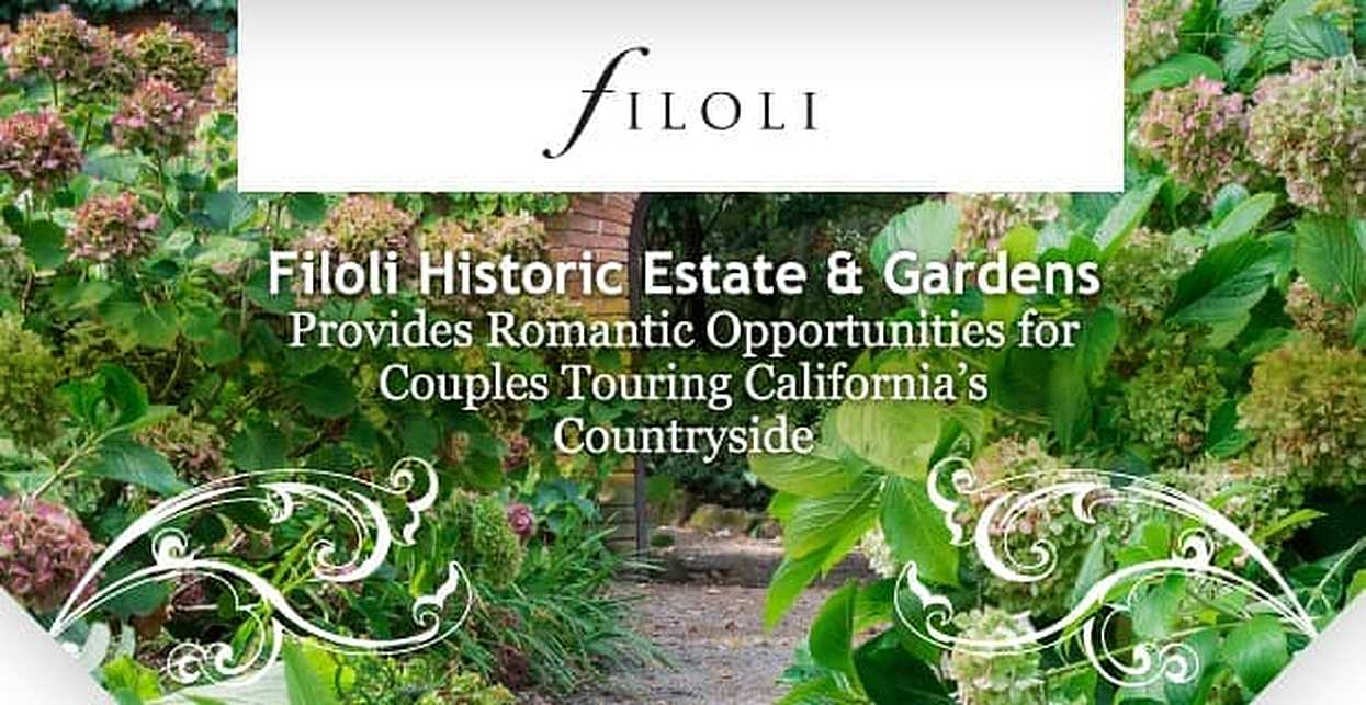 Filoli Historic House & Garden Provides Romantic Opportunities for Couples Touring California's Countryside