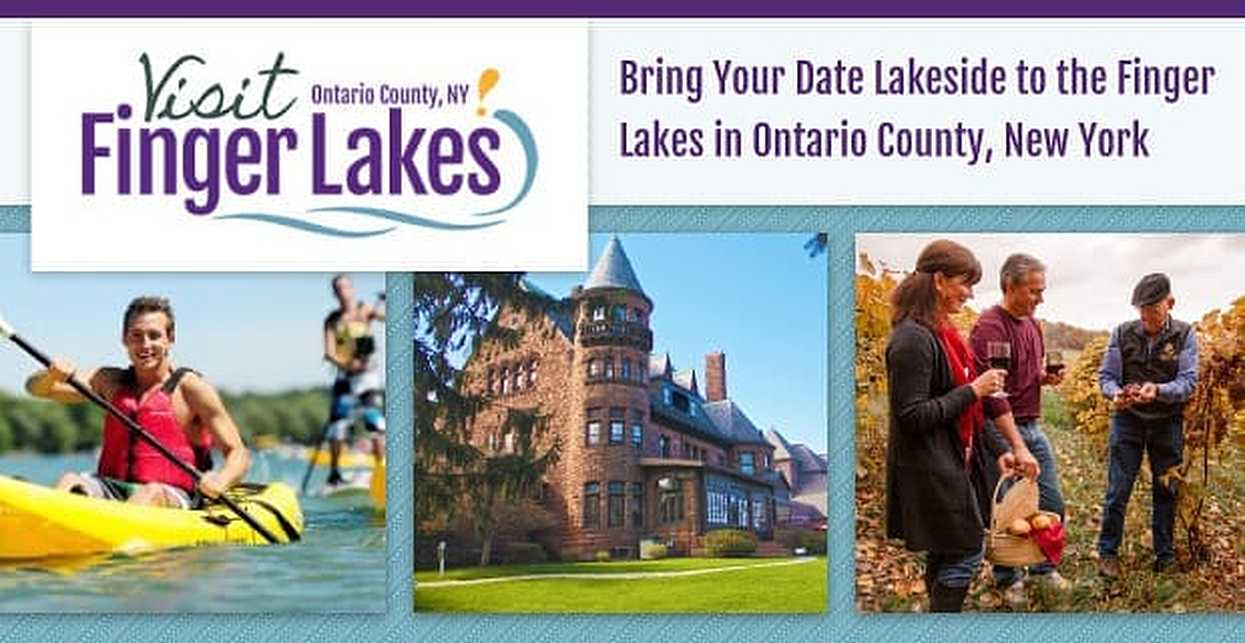 Bring Your Date Lakeside to the Finger Lakes in Ontario County, New York