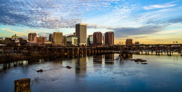 Photo of the skyline of Richmond, Virginia