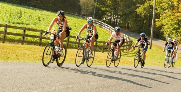 Photo of bikers on the Virginia Capital Trail