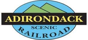 Photo of the Adirondack Scenic Railroad logo