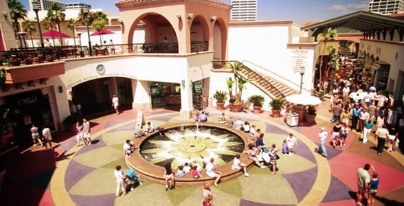 Photo of the Fashion Island Shopping Center