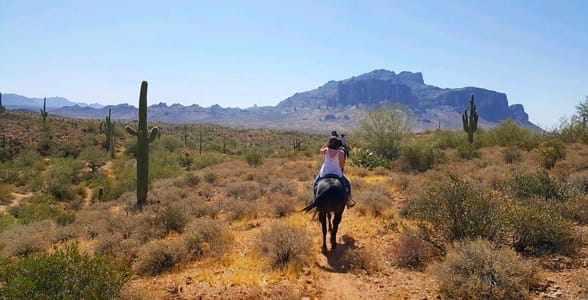 Photo of horseback riding in Mesa, Arizona