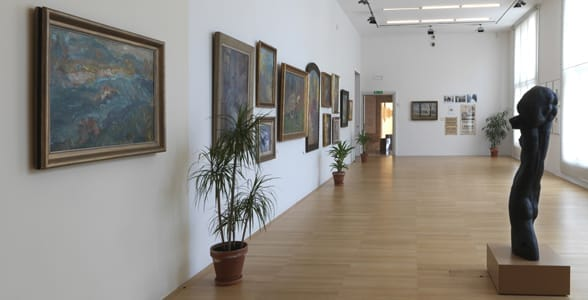 Photo of the Museum of Modern Art in Ljubljana